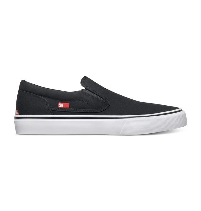 0 Trase - Slip-On Schuhe Schwarz ADYS300184 DC Shoes