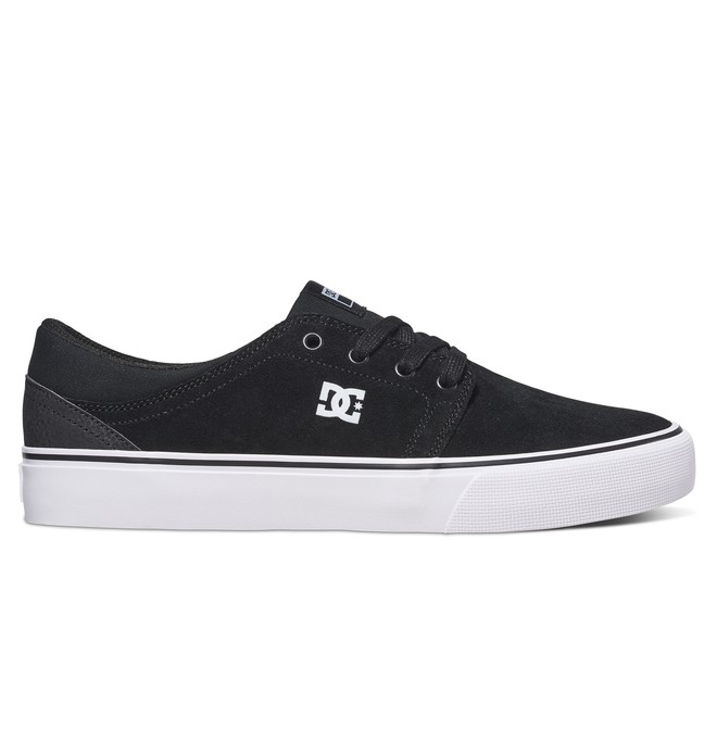 0 Trase S - Skate Shoes for Men White ADYS300206 DC Shoes