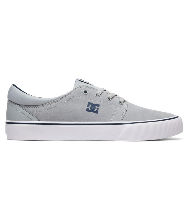 0 Trase S - Skate Shoes for Men Gray ADYS300206 DC Shoes