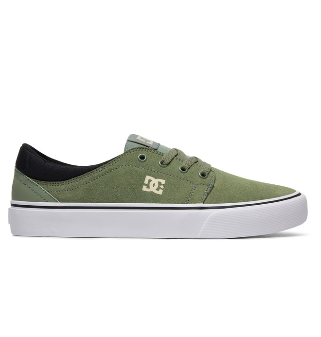 0 Trase S - Skate Shoes for Men Green ADYS300206 DC Shoes
