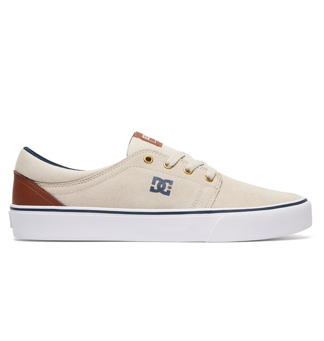 0 Trase S - Skate Shoes for Men Beige ADYS300206 DC Shoes