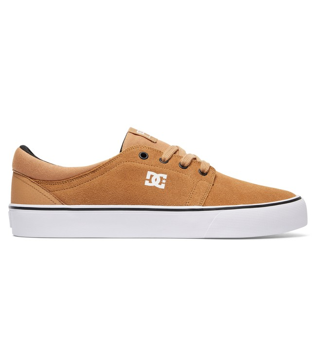 0 Trase S - Skate Shoes for Men Brown ADYS300206 DC Shoes