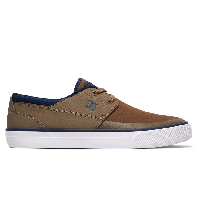 0 Men's Wes Kremer 2 S Skate Shoes Brown ADYS300241 DC Shoes
