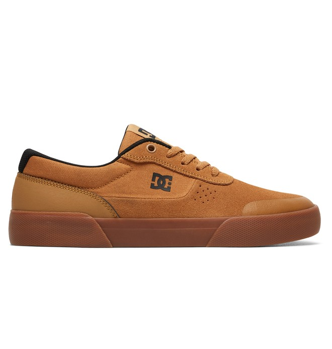 0 Switch Plus S Skate Shoes Brown ADYS300399 DC Shoes