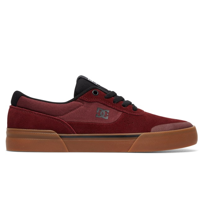 0 Switch Plus S - Skate Shoes Red ADYS300399 DC Shoes