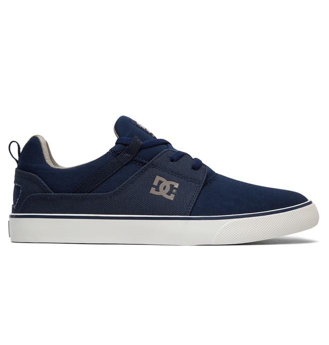 DC Shoes Heathrow Vulc TX, Zapatillas para Hombre, Azul (Navy NVY), 42 EU