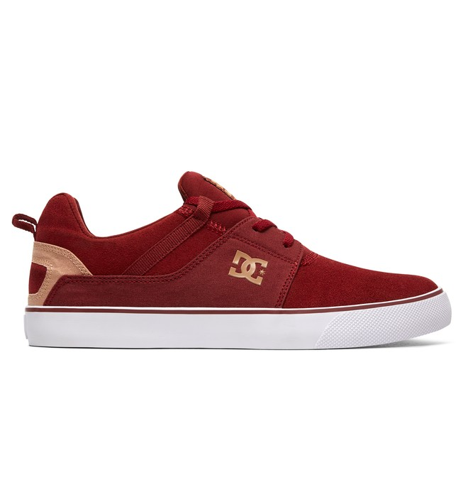 0 Heathrow Vulc - Baskets Rouge ADYS300443 DC Shoes