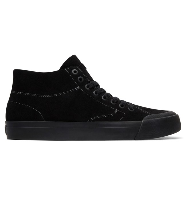 0 Men's Evan Smith Hi Zero S High-Top Skate Shoes Black ADYS300477 DC Shoes