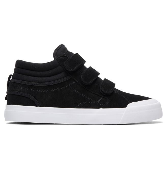 0 Men's Evan Smith Hi V S High-Top Skate Shoes Black ADYS300523 DC Shoes