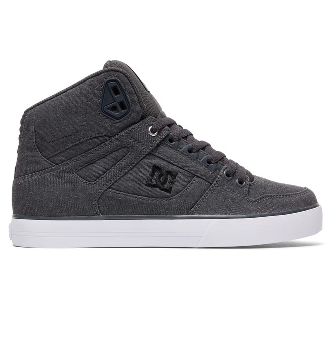 0 Men's Spartan High WC TX SE High Top Shoes Grey ADYS400004 DC Shoes