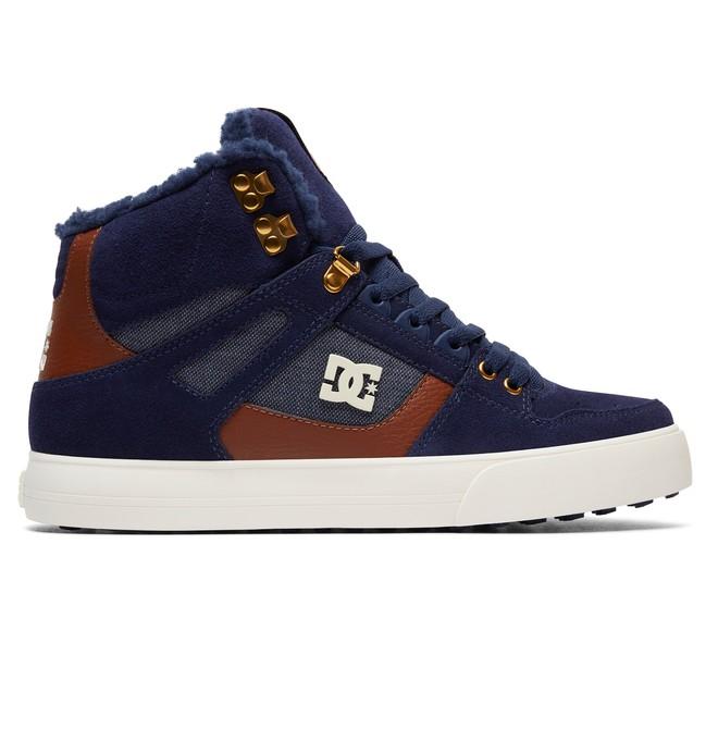0 Pure High WC WNT - Zapatillas Altas Azul ADYS400005 DC Shoes