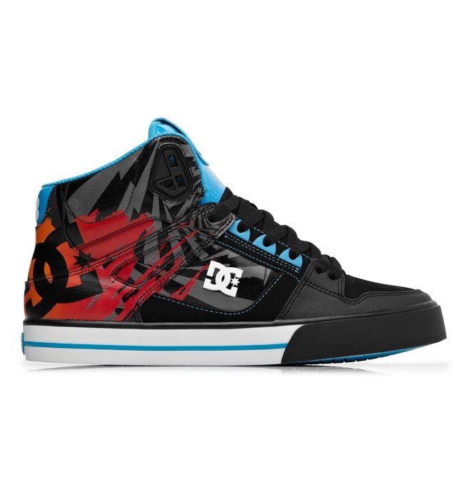 0 SPARTAN HIGH WC KB  ADYS400016 DC Shoes