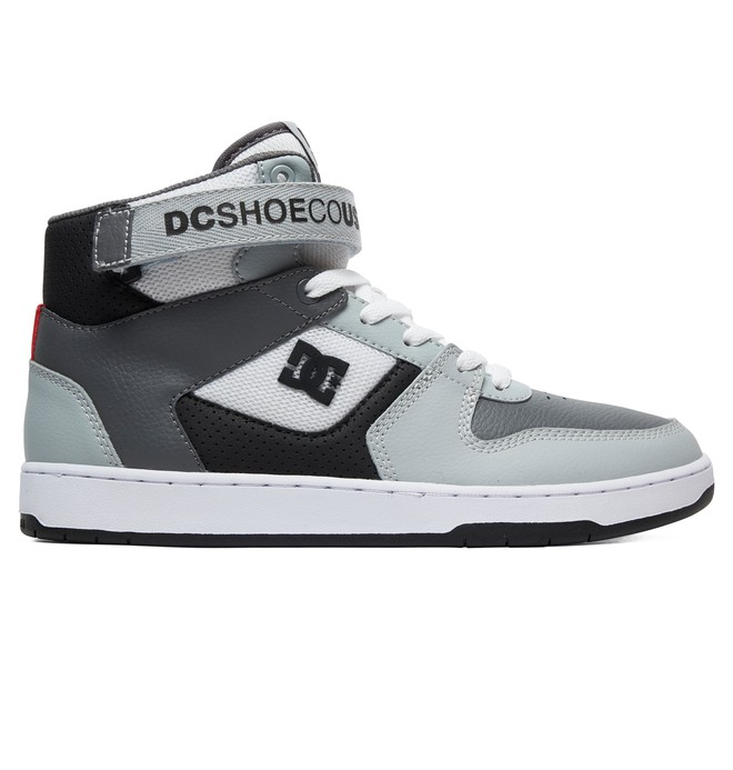 0 Pensford High-Top Shoes White ADYS400038 DC Shoes