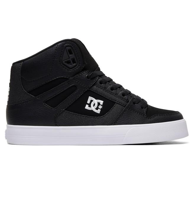 0 Men's Pure SE High-Top Shoes Black ADYS400043 DC Shoes