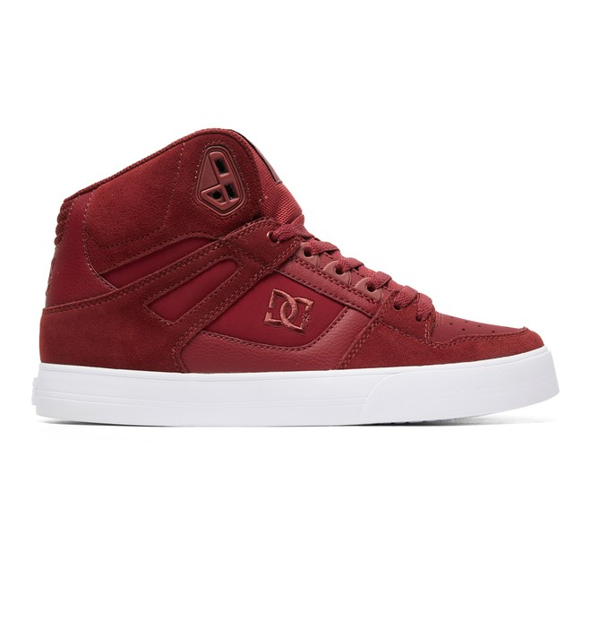 0 Pure SE High-Top Shoes Red ADYS400043 DC Shoes