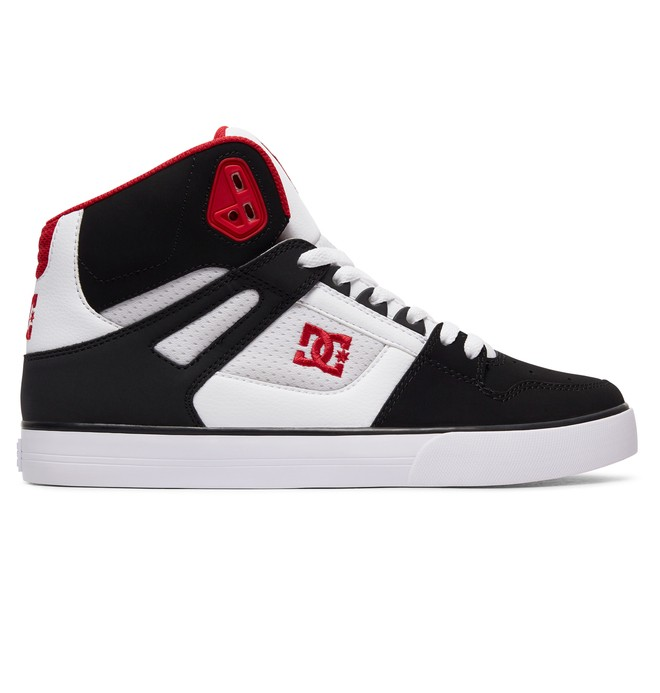 0 Men's Pure SE High-Top Shoes White ADYS400043 DC Shoes