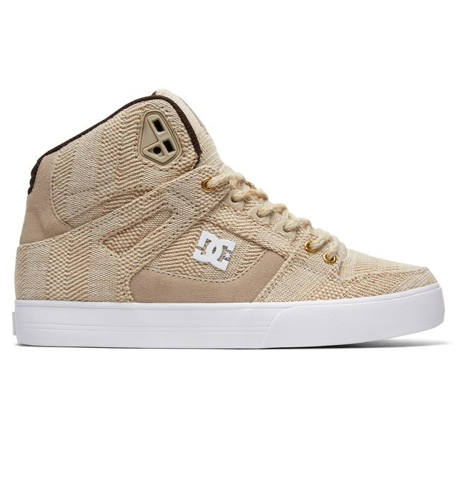 0 Men's Pure WC TX LE High Top Shoes Beige ADYS400045 DC Shoes