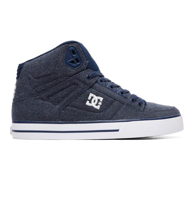0 Men's Pure TX SE High-Top Shoes Blue ADYS400046 DC Shoes