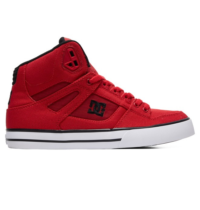 0 Pure WC TX SE High-Top Shoes Red ADYS400046 DC Shoes