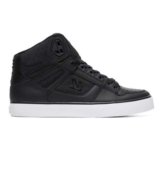 0 Pure WC TX SE High-Top Shoes Black ADYS400046 DC Shoes