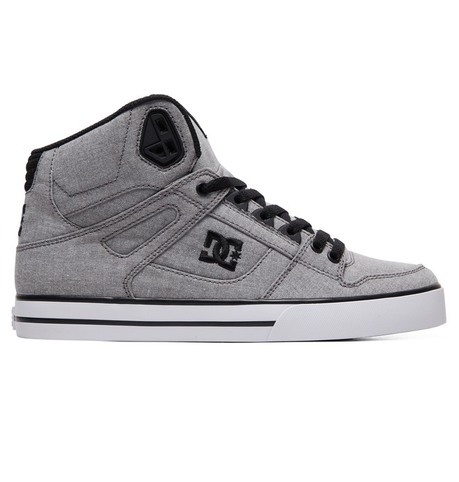 0 Pure WC TX SE High-Top Shoes Grey ADYS400046 DC Shoes