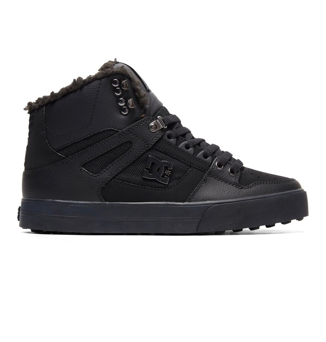 0 Pure WNT Winter High-Top Boots Black ADYS400047 DC Shoes