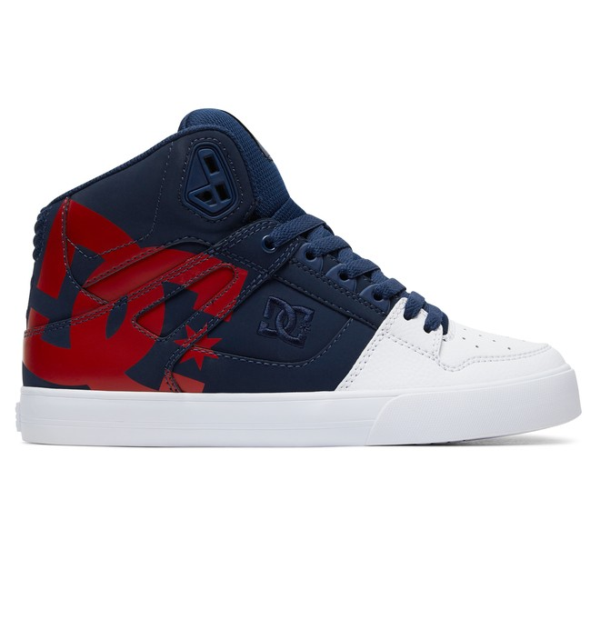 0 Pure High-Top Shoes Blue ADYS400050 DC Shoes