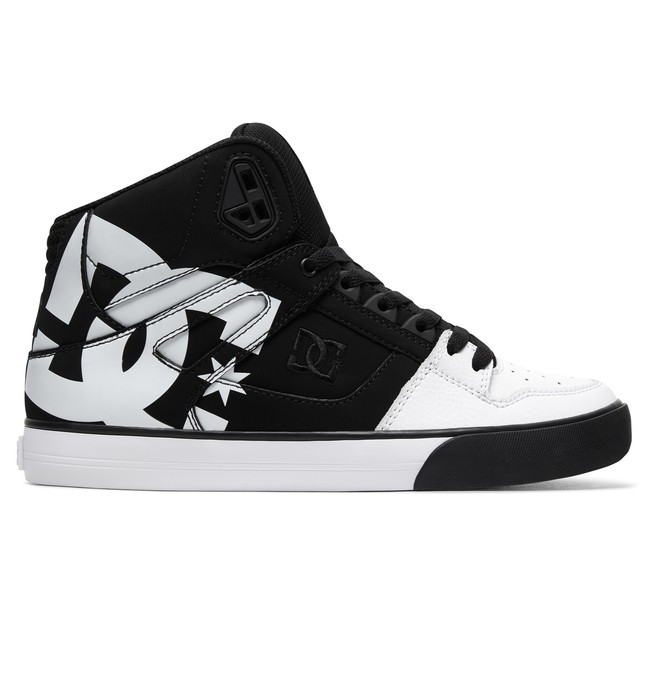 0 Zapatos de Parte Superior Alta SP WC Pure Negro ADYS400050 DC Shoes
