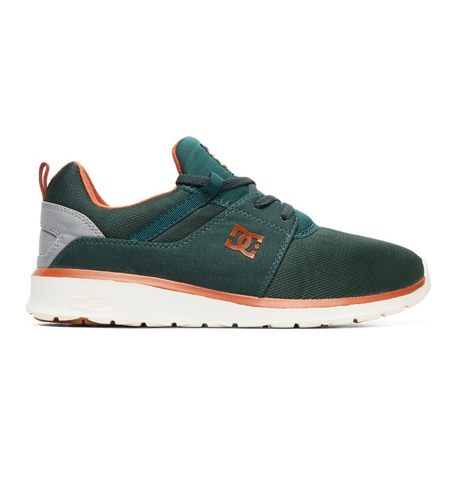 0 Heathrow Shoes Green ADYS700071 DC Shoes