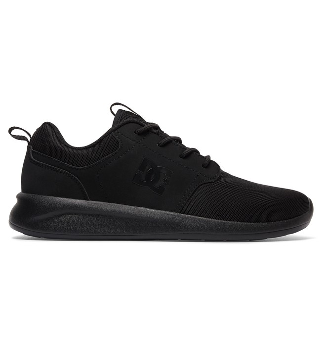 0 Men's Midway Shoes Black ADYS700096 DC Shoes