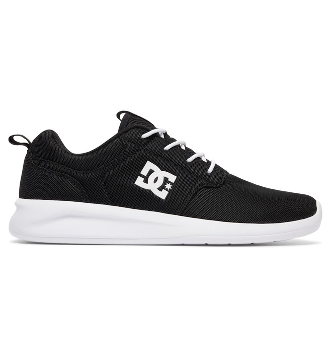 0 Men's Midway Shoes Black ADYS700097 DC Shoes