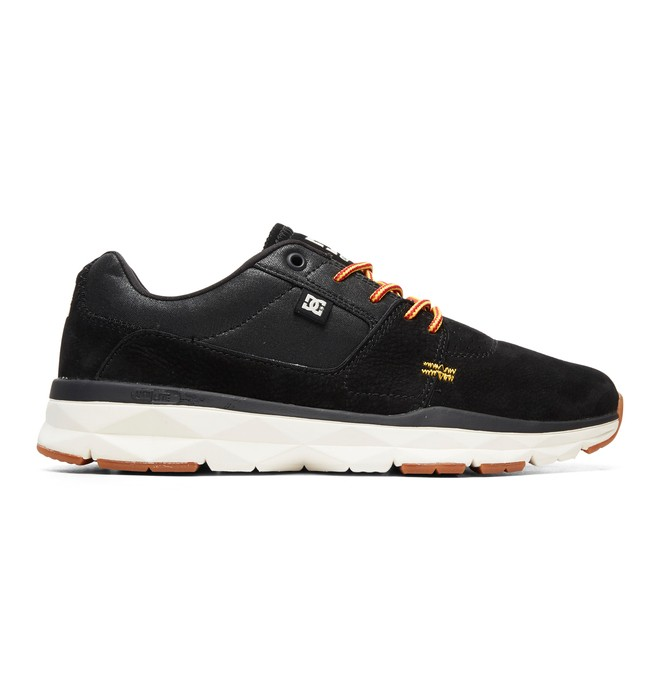 0 Player LE - Leather Shoes for Men Black ADYS700119 DC Shoes