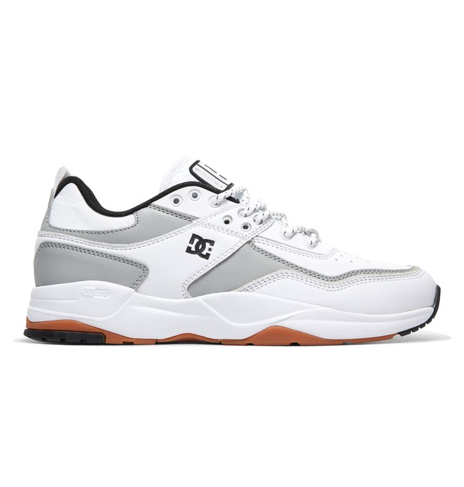 0 E. Tribeka LE Leather Shoes White ADYS700146 DC Shoes