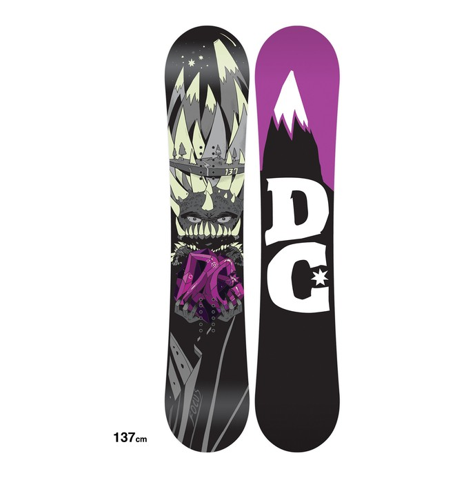 0 Tabla de Snowboard Focus - Hombre  ADYSB00009 DC Shoes
