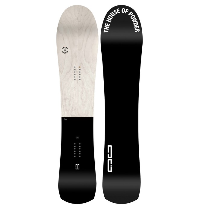 0 Hr - Snowboard Gris ADYSB03033 DC Shoes