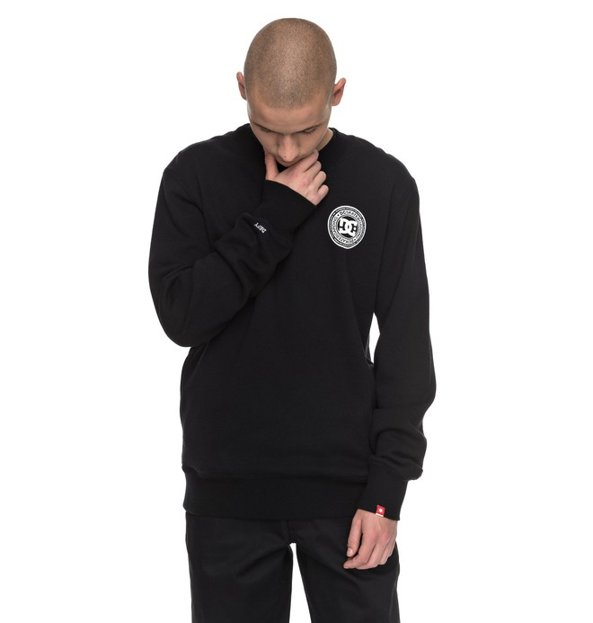 0 Skate Circle - Sweat pour Homme  ADYSF03016 DC Shoes
