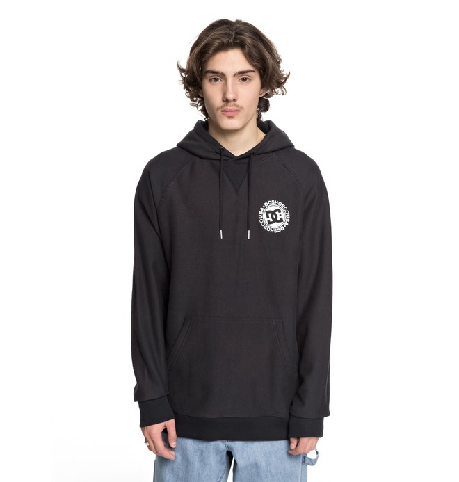 0 Core Hoodie Black ADYSF03020 DC Shoes