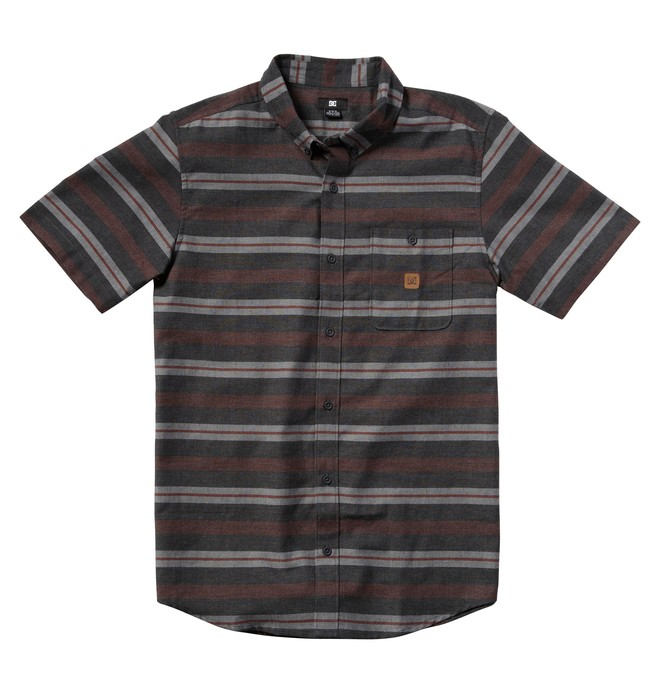 0 Men's Ribes Short Sleeve Shirt  ADYWT00004 DC Shoes