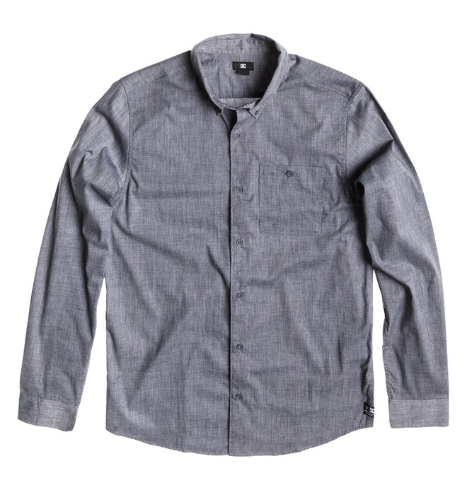 0 Men's Anvil 2 Long Sleeve Shirt  ADYWT00022 DC Shoes