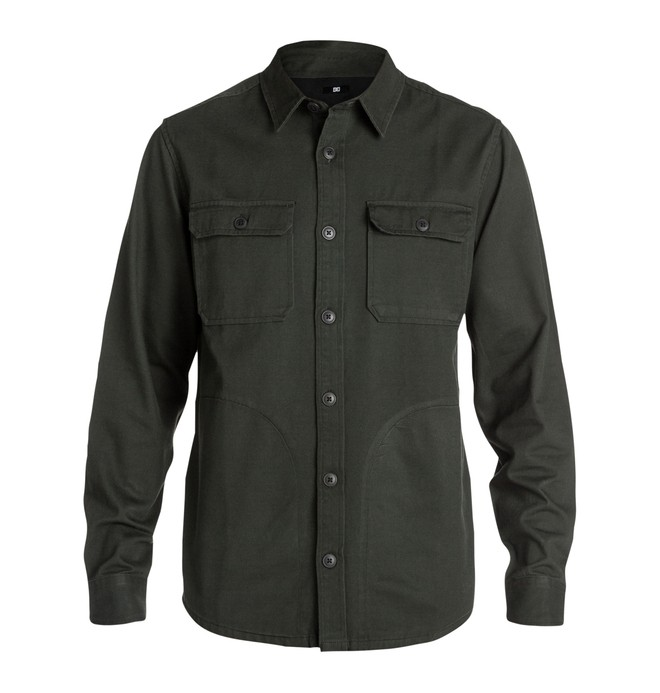 0 Men's Farther Shirts  ADYWT00028 DC Shoes