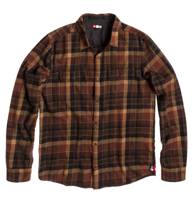 0 Dirtball Flannel S  ADYWT00059 DC Shoes
