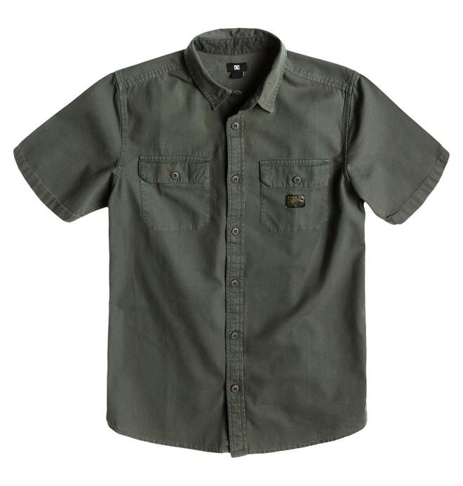 0 Men's Penzance SS Shirt  ADYWT00067 DC Shoes
