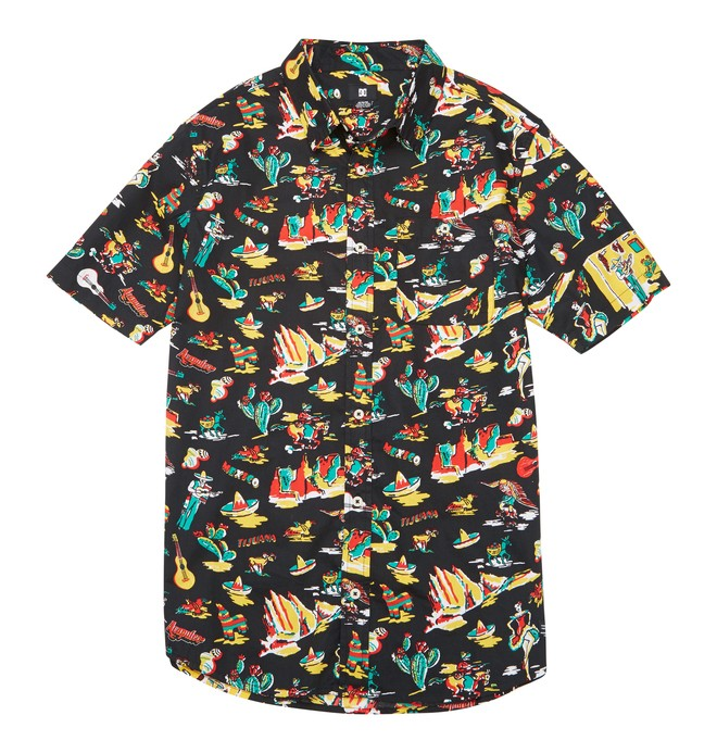 0 Men's Fiesta SS Shirt  ADYWT00068 DC Shoes