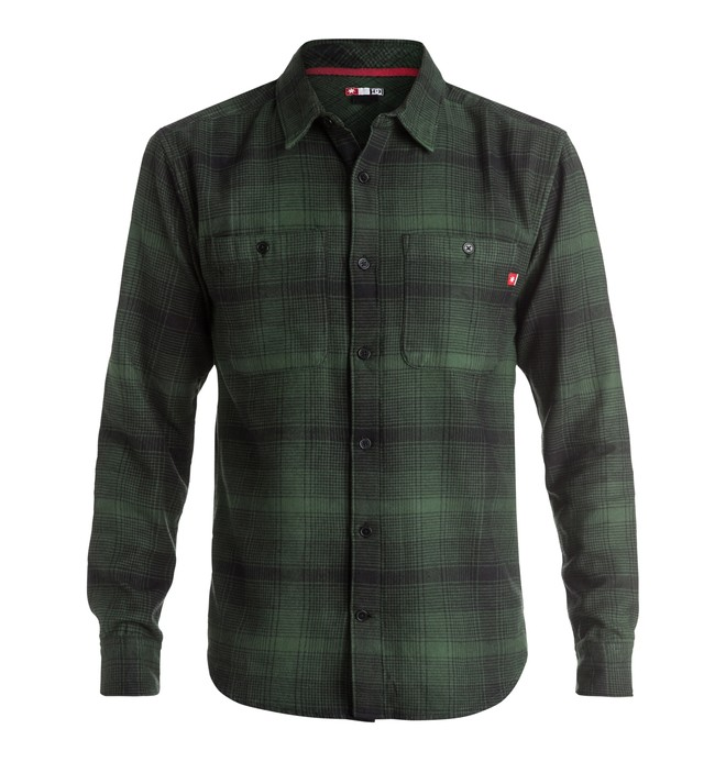 0 Men's Venetian Hombre Flannel Long Sleeve Shirt  ADYWT03055 DC Shoes