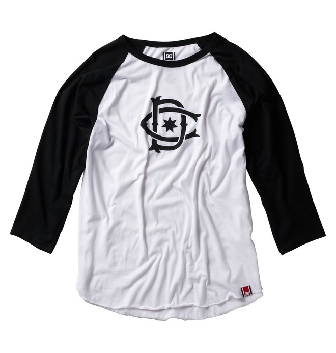 0 Men's Rob Dyrdek Ripper Raglan Shirt  ADYZT00100 DC Shoes