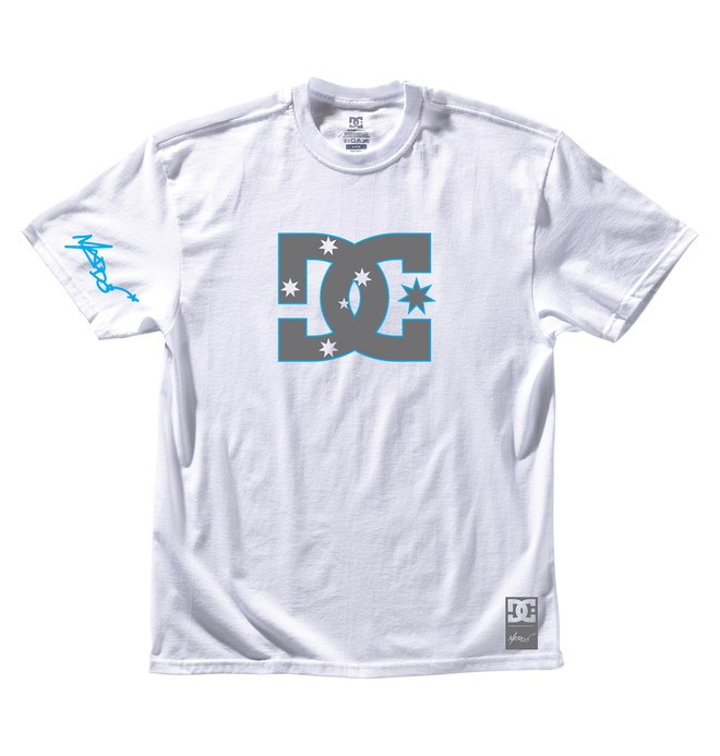 0 Men's Robbie Maddison Stars Tee  ADYZT00220 DC Shoes