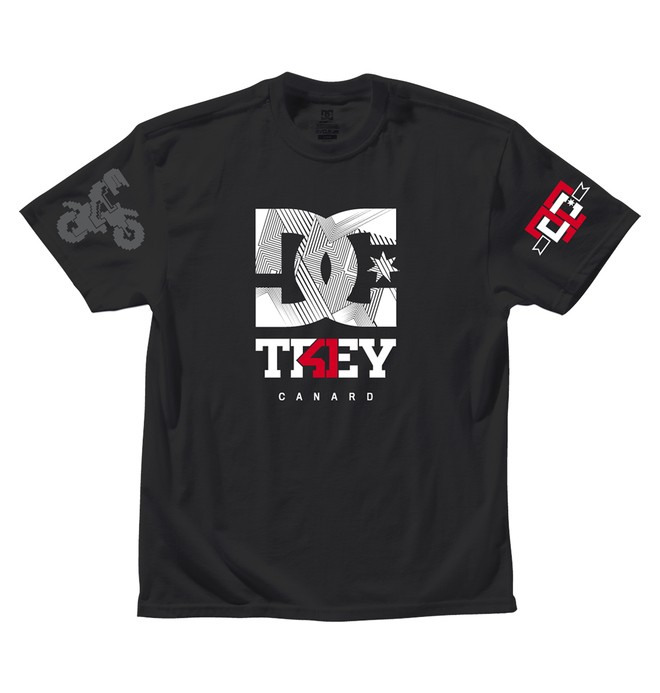 0 TC BRANDED TEE  ADYZT00242 DC Shoes