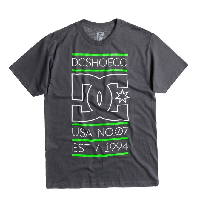 0 Rd Highlight Stacked Tee  ADYZT00289 DC Shoes