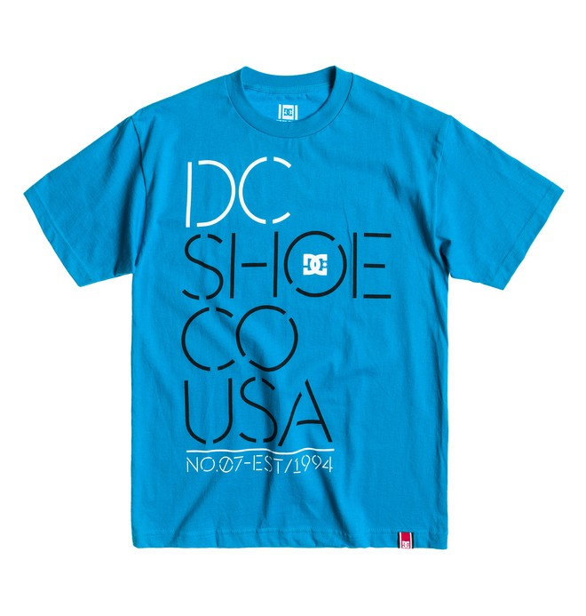 0 Rd Highlight Stencil Tee  ADYZT00290 DC Shoes