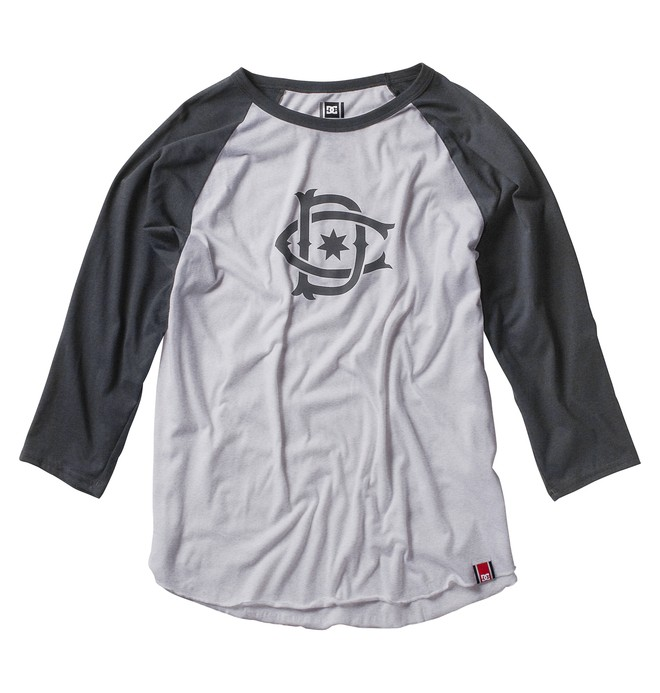 0 Men's Rob Dyrdek Ripper Raglan Heather Shirt  ADYZT00374 DC Shoes